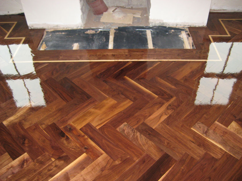 Parquet floors o 39 flynns flooring for Manufactured hardwood flooring